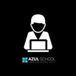 Logotipo de grupo de Soporte Azul School